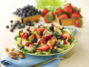 THE WENDY'S COMPANY BERRY ALMOND CHICKEN SALAD