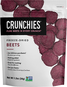 Sprouts Now has Crunchies Freeze-Dried Snacks