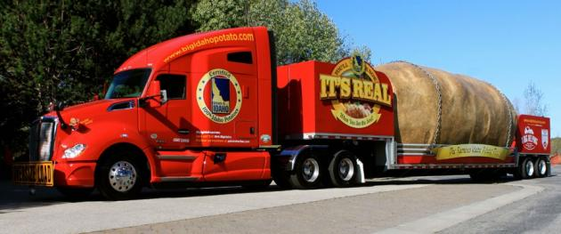 Big Idaho Potato Truck begins Sixth National Tour